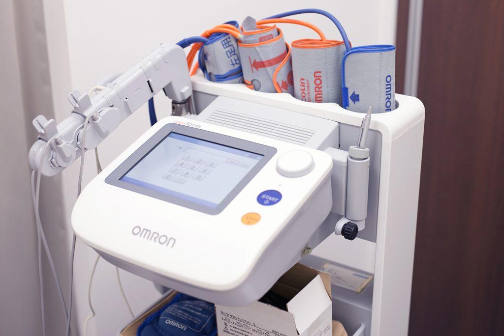 動脈硬化(脳波)検査